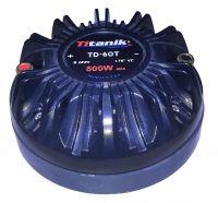 Driver TITANIK de ENROSCAR/membrana de 500watts, Cod: D-004